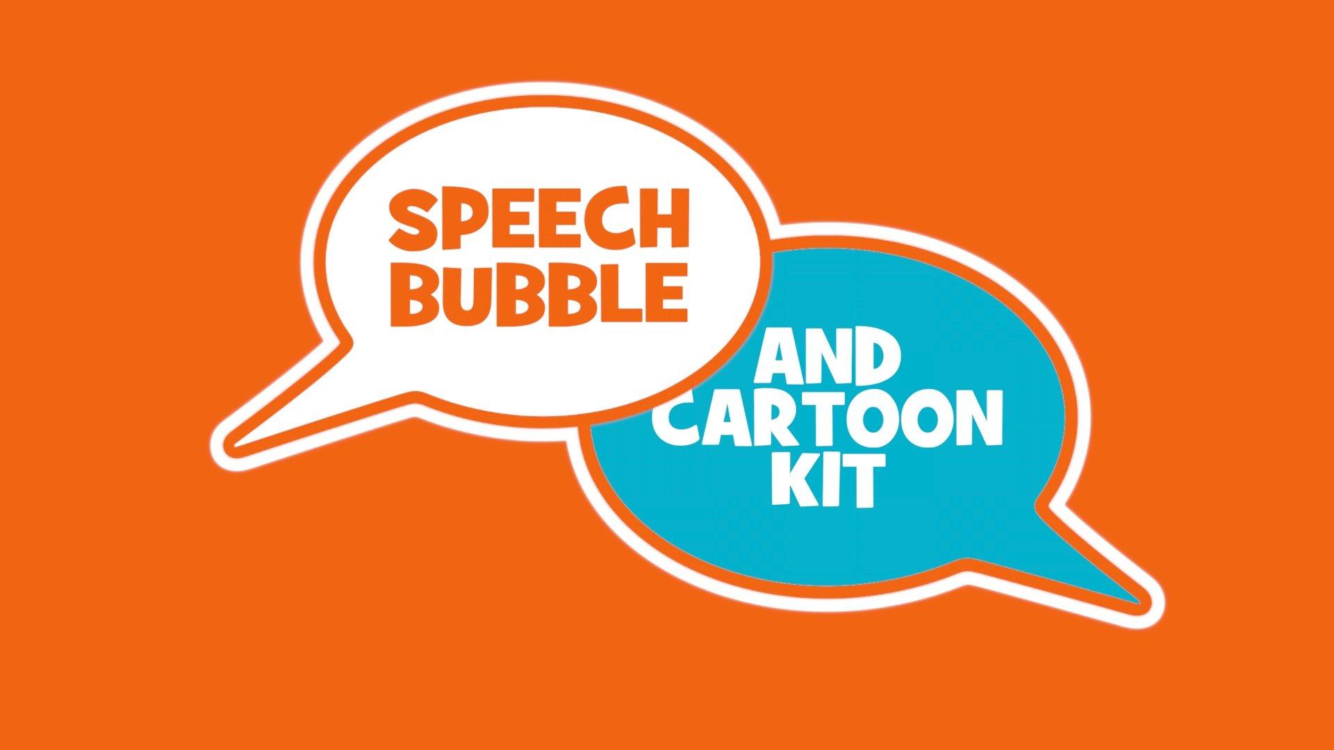 Speech Bubble, Cartoon Effect & Cartoon Panel 1.1 w/ new features!