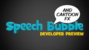 Speech Bubble Developer Preview