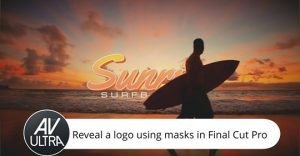 Use the FCPX Draw Mask to Reveal a Logo
