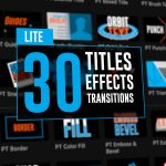 FREE DOWNLOAD! Power Tools now available. 30 Free FCPX Titles, Effects, Transitions